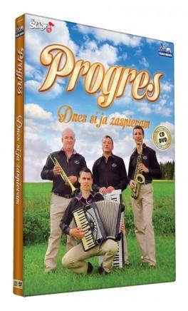 Progres - Dnes si ja zaspievam/CD+DVD