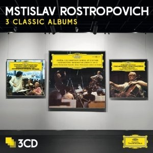 Mstislav Rostropovich - 3 Classic Albums  (Limited edition)