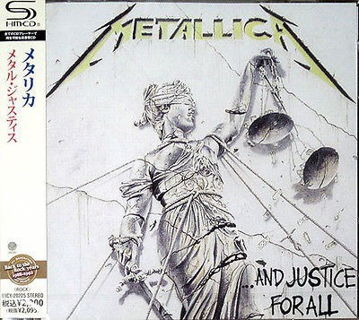 Metallica - ...And Justice For All (SHM-CD)
