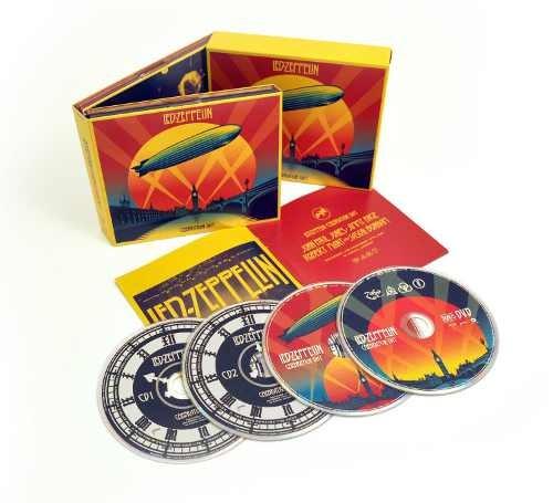 Led Zeppelin - Celebration Day (2CD + 2DVD) CD DIGIPACK OBAL