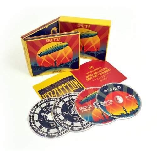 Led Zeppelin - Celebration Day (2CD + BRD + DVD) CD DIGIPACK OBAL