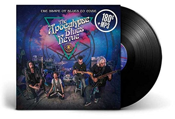 Apocalypse Blues Revue - Shape Of Blues To Come (2018) - 180 gr. Vinyl