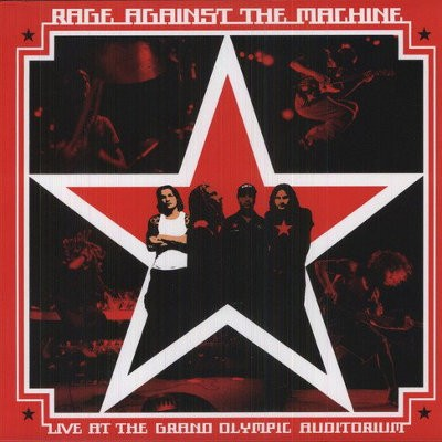 Rage Against The Machine - Live At The Grand Olympic Auditorium (Reedice 2018) – Vinyl