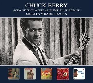 Chuck Berry - Five Classic Albums Plus Bonus Singles & Rare Tracks (2018)