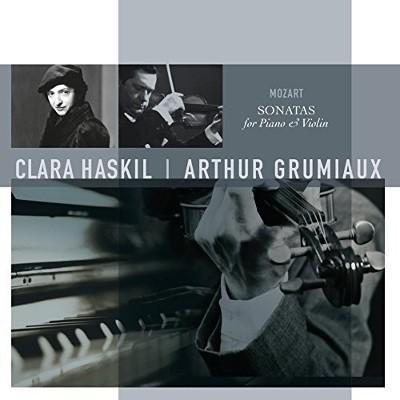 Wolfgang Amadeus Mozart / Clara Haskil, Arthur Grumiaux - Sonatas For Piano & Violin (Edice 2017) - Vinyl