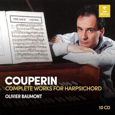 Francois Couperin / Olivier Baumont - Cembalo – Kompletní Dílo (10CD BOX, 2018)