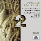 Purcell, Henry - PURCELL Choral Works / Preston