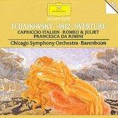 Tchaikovsky, Peter Ilyich - TCHAIKOVSKY »1812« Overture  / Barenboim