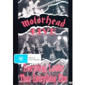 Motörhead - Everything Louder Than Everything Else (DVD, Edice 2004)