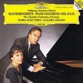 Mozart, Wolfgang Amadeus - MOZART Piano Concertos Nos. 17 + 21 / Pires, Abbad