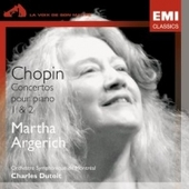 Martha Argerich - Chopin - Concertos Pour Piano No.1 Et 2