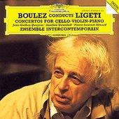 Pierre-Laurent Aimard - LIGETI Concertos for VC VL  Piano Boulez