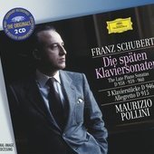 Schubert, Franz - SCHUBERT The Late Piano Sonatas / Pollini