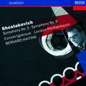 Shostakovich, Dmitri - Shostakovich Symphonies 5 and 9 Haitink