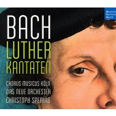 Johann Sebastian Bach - Luther Kantaten (4CD, 2016)