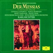 Handel, Georg Friedrich - HANDEL Messiah (in German) Richter