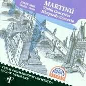 Bohuslav Martinů/Josef Suk - Violin Concertos/Rhapsody-Concerto