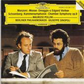 Manzoni &  Schoenberg - Mše/Komorní symfonie/ Berliner Philharmoniker, Sinopoli