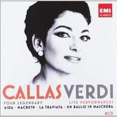 Maria Callas - Verdi: Four legendary live performances
