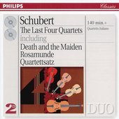 Schubert, Franz - Schubert The last four Quartets Quartetto Italiano