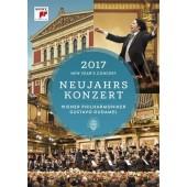 Vídeňští filharmonici - Novoroční Koncert 2017 (DVD)