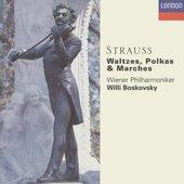 Johann Strauss II - Johann Strauss Waltzes, Polkas Boskovsky