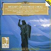 Mozart, Wolfgang Amadeus - MOZART Große Messe c-moll Karajan