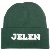 Jelen - Čepice zelená s logem