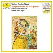Mozart, Wolfgang Amadeus - MOZART Symphonien Nos. 40, 41 Karajan