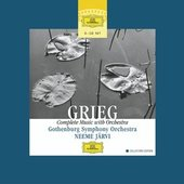 Grieg, Edvard - GRIEG Complete Music with Orchestra Järvi