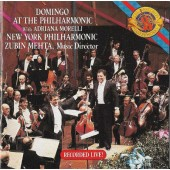 Placido Domingo - Domingo At The Philharmonic With Adriana Morelli