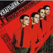 Kraftwerk - Die Mensch-Maschine (German Version, Limited Red Vinyl, Edice 2020) - Vinyl