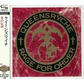 Queensrÿche - Rage For Order (Japan, SHM-CD, Edice 2015)