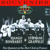 Django Reinhardt & Stephane Grappelly With Quintet Of The Hot Club Of France - Souvenirs (1988)