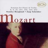 Wolfgang Amadeus Mozart / Jaap Schröder, Stanley Hoogland - Sonatas For Piano & Violin: K. 8, 26, 301, 306, 360, 454 (Edice 1999)
