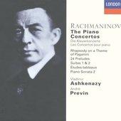 Vladimir Ashkenazy - Rachmaninov Piano Concertos 1 - 4 Vladimir Ashkena