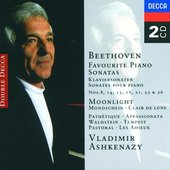 Beethoven, Ludwig van - Beethoven Piano Sonatas Vladimir Ashkenazy VALNSTEJNSKA/PATETICKA/MES