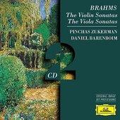 Brahms, Johannes - BRAHMS The Violin Sonatas / Zukerman, Barenboim