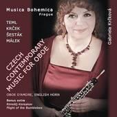 Gabriela Krčková - Czech contemporary music for oboe