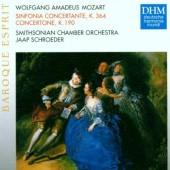 Wolfgang Amadeus Mozart / Jaap Schroeder - Sinfonia Concertante, K. 364 / Concertone, K. 190 (Edice 1997)