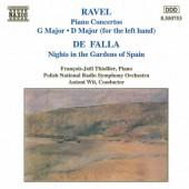 Maurice Ravel, Manuel de Falla - Ravel: Piano Concertos G Major, D Major/De Falla: Nights In The Gardens Of Spain (1994)