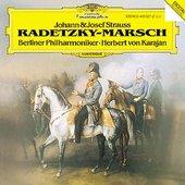 Strauss I + II, Johann - R. STRAUSS Radetzky-Marsch Karajan
