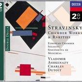 Stravinsky, Igor - Stravinsky Chamber Works & Rarities Dutoit