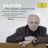 Berliner Philharmoniker - BARTÓK The Piano Concertos / Boulez