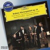 Brahms, Johannes - BRAHMS Piano Quintet op. 34 / Pollini