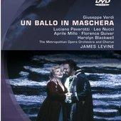 Verdi, Giuseppe - VERDI Un ballo in maschera Levine DVD-V
