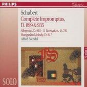 Schubert, Franz - Schubert 4 Impromptus, d899 Alfred Brendel