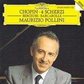 Chopin, Frédéric - CHOPIN 4 Scherzi Berceuse Barc. Pollini