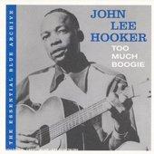 John Lee Hooker - Too Much Boogie: Essential Blue Archive DIGISLEEVE
