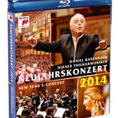 Vídeňští filharmonici - Novoroční Koncert 2014 (Blu-ray Disc)